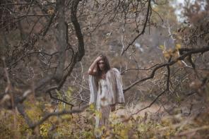 Editorial shoot at Connemara Nature Preserve in Plano, TX