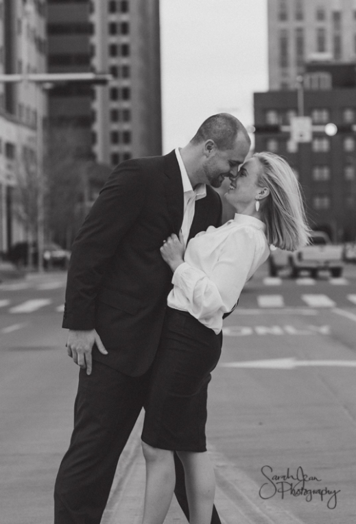 Brooke and Tyler's Engagement session in OKC